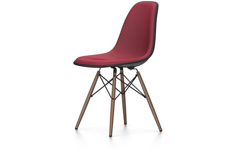 vitra eames plastic side chair dsw neue h he rot moorbraun vitra by raum und form m nster. Black Bedroom Furniture Sets. Home Design Ideas