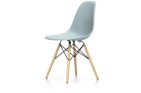 Vitra Eames Plastic Side Chair Dsw Alte Höhe Eisgrau Raum Und