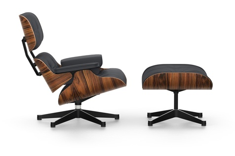 Eames Stoel Vitra : Eames lounge chair ottoman palisander vitra by raum und form